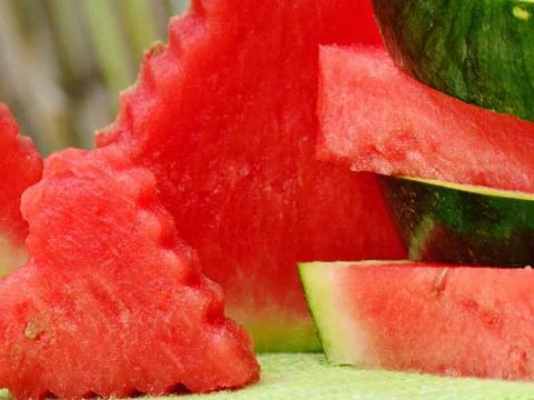 Watermeloen bereiden